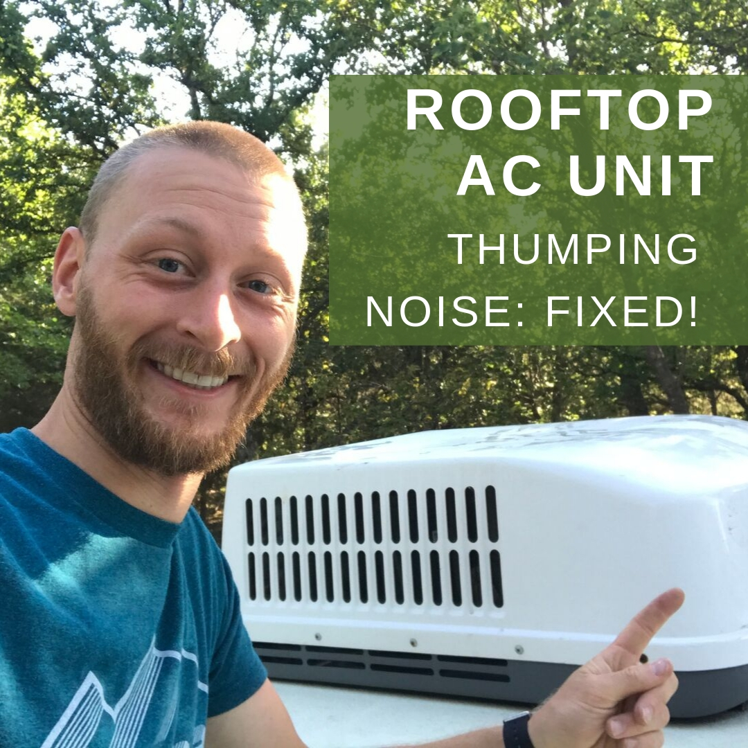 Rooftop Ac Making A Thumping Noise Fixed Gander Flight